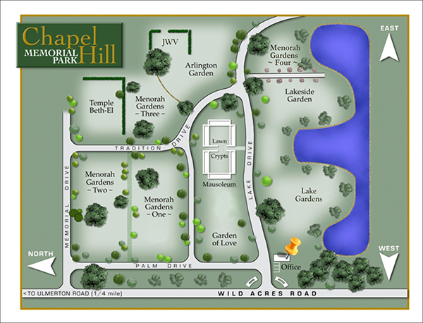 Chapel Hill map 2
